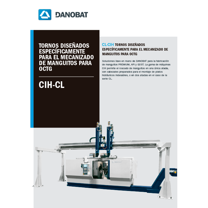 CIH-CL speziell für die bearbeitung-von-kupplungsgewinden für octg
