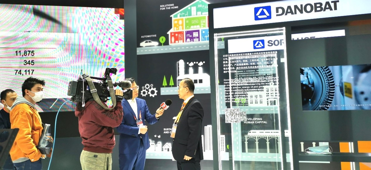 Danobatgroup first appearance at the CIIE: Building Smart Factories, Empowering China´s New Infrastructure