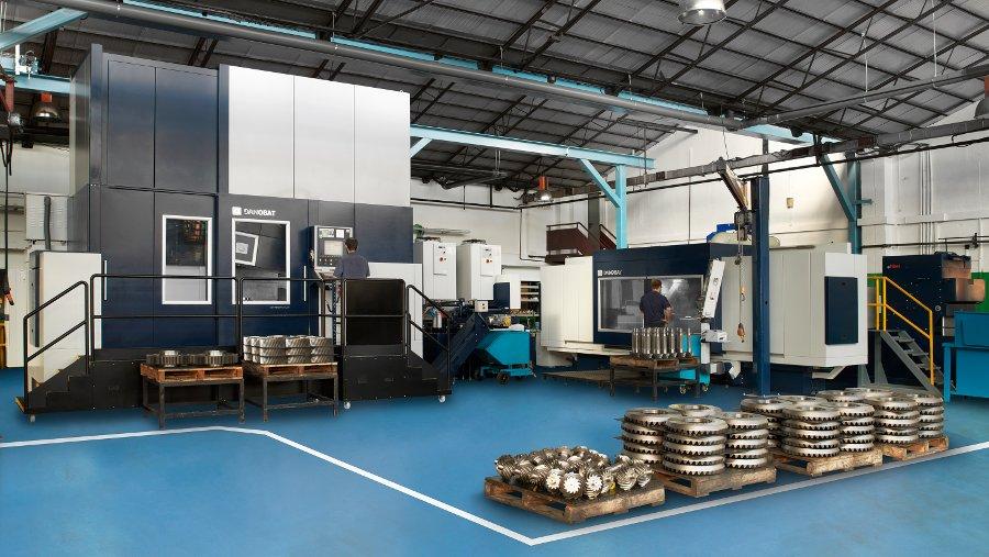 Rectificadoras personalizadas para mecanizar piezas de gran tamaño