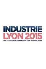 INDUSTRIE 2015 in Lyon (France)