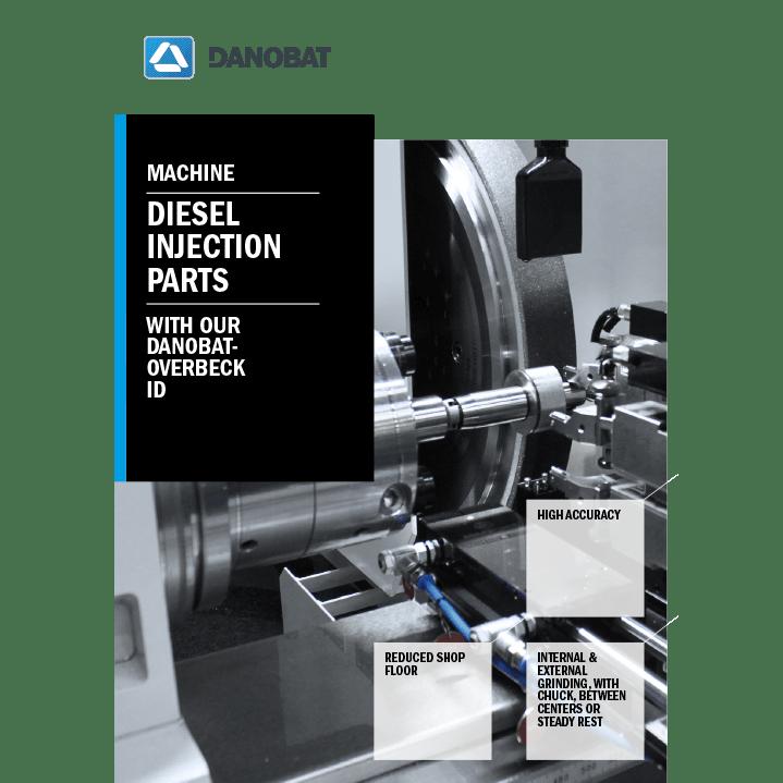 Шлифовальный станок для инжекторных насосов серии ID от компании DANOBAT-OVERBECK