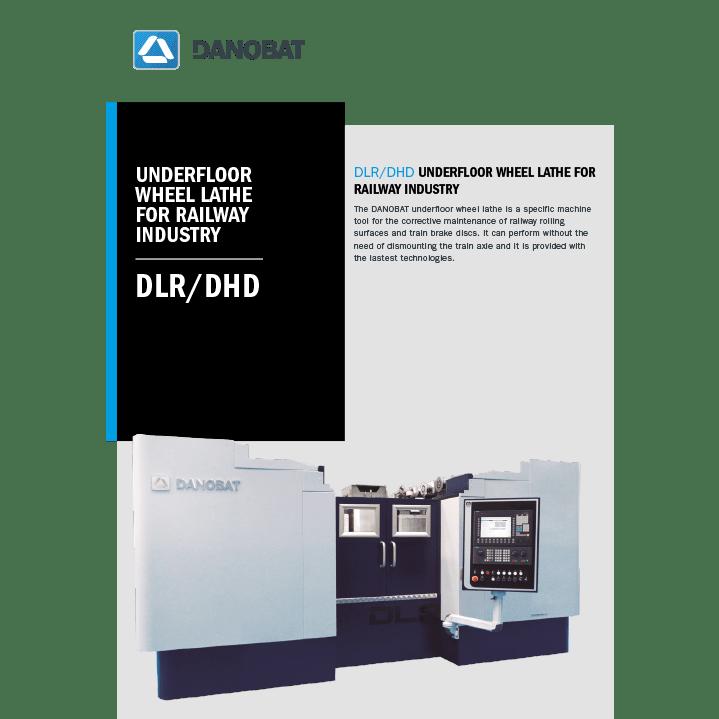 DLR-DHD unterflur radsatzdrehmaschine für-die-eisenbahnindustrie