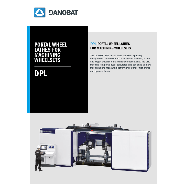 DPL portal lathe machine