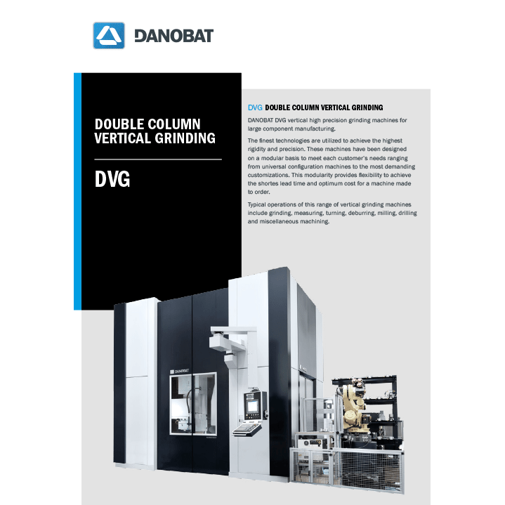 Вертикальный шлифовальный станок серии DVG