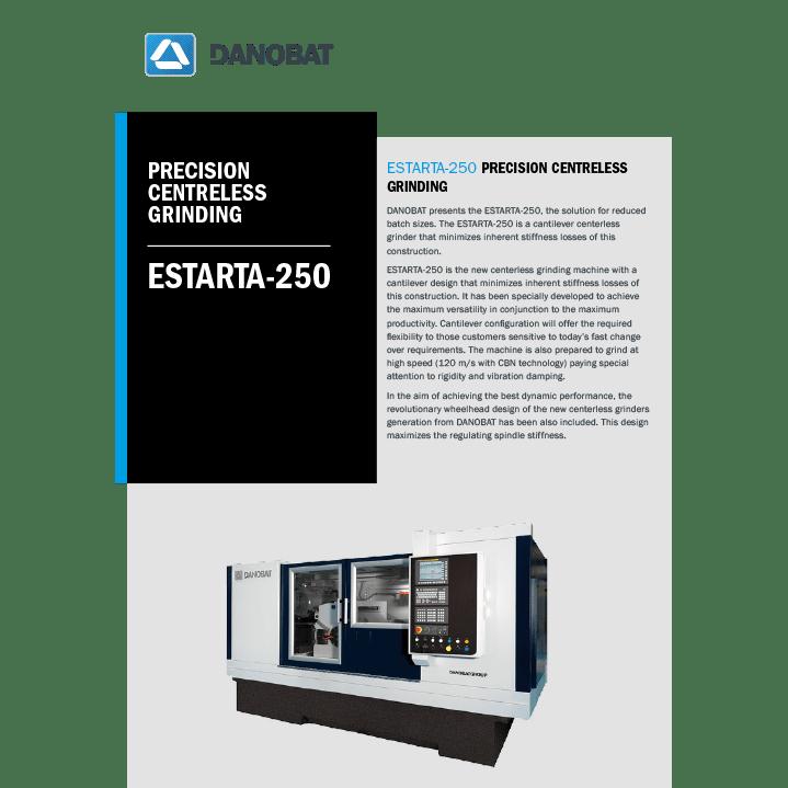 ESTARTA-250 spitzenlose aussenrundschleifmaschinen