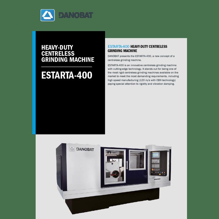 ESTARTA-400 Spitzenlose aussenrundschleifmaschinen DANOBATESTARTA-400 spitzenlose aussenrundschleifmaschinen
