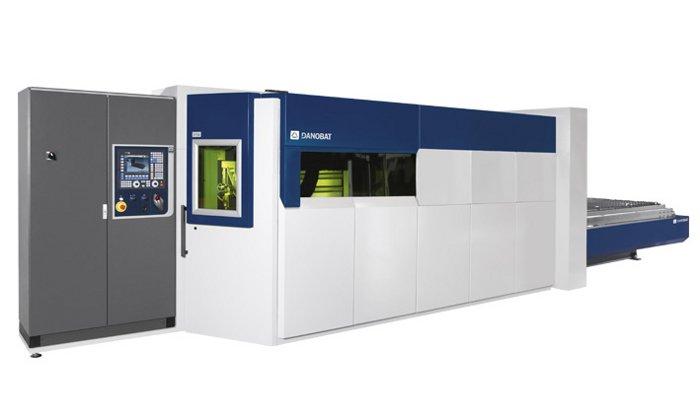 DANOBAT zuntz bidezko laser ebaketako makina IRIS modeloa
