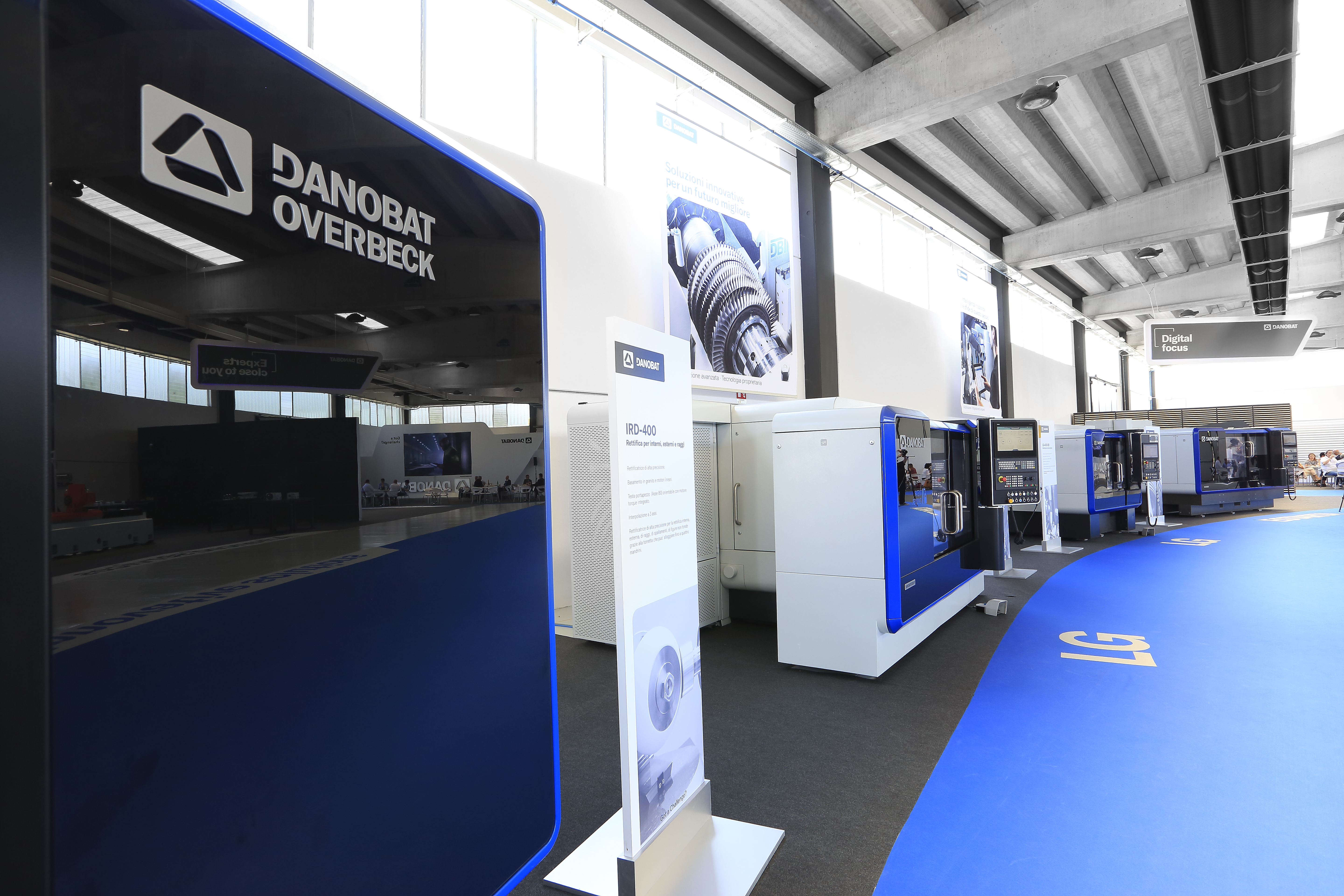 DANOBAT organises an Open House at its german facilities to present its range of high-precision grinding machines