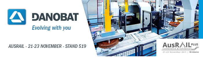 DANOBAT showcases at AUSRAIL its focus on the development of advanced manufacturing and maintenance solutions for railway rolling stock components