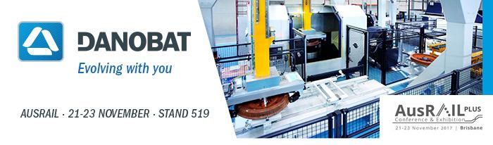 DANOBAT exhibe en la feria AUSRAIL su apuesta por el desarrollo de soluciones de fabricación y mantenimiento avanazadas del material rodante