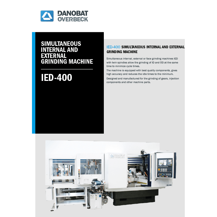 IED internal grinding machine