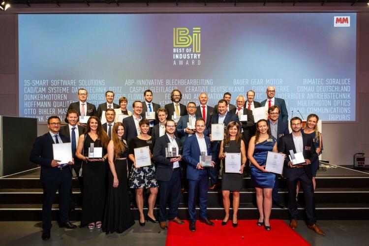 Soraluce VSET получает награду Best of Industry Award