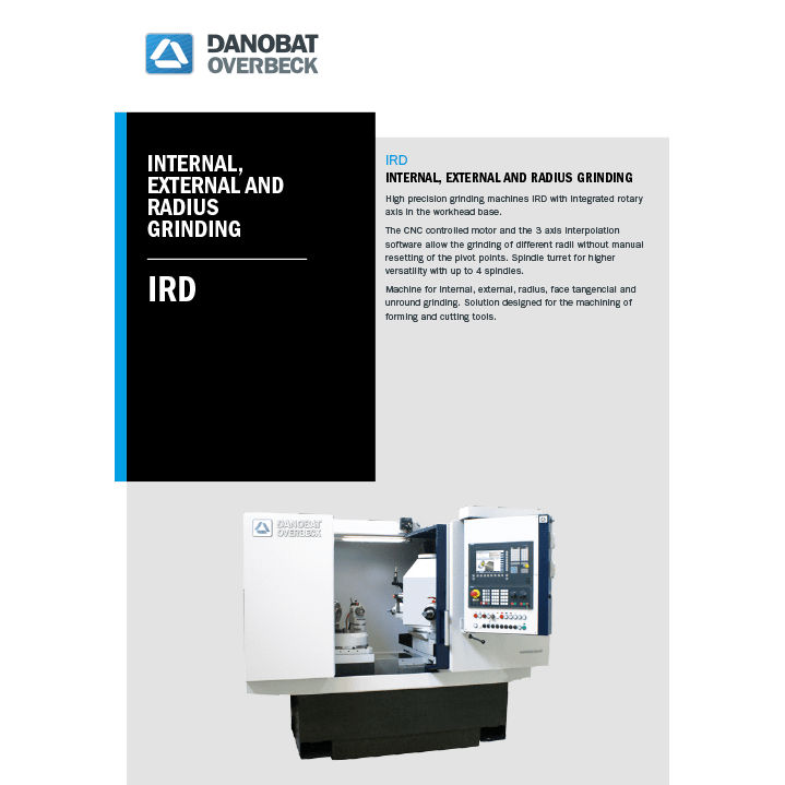 IRD internal grinding machine