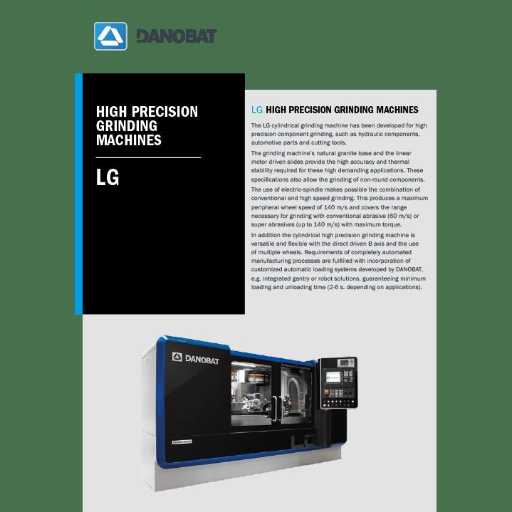 LG aussenrundschleifmaschinen hochgeschwindigkeit