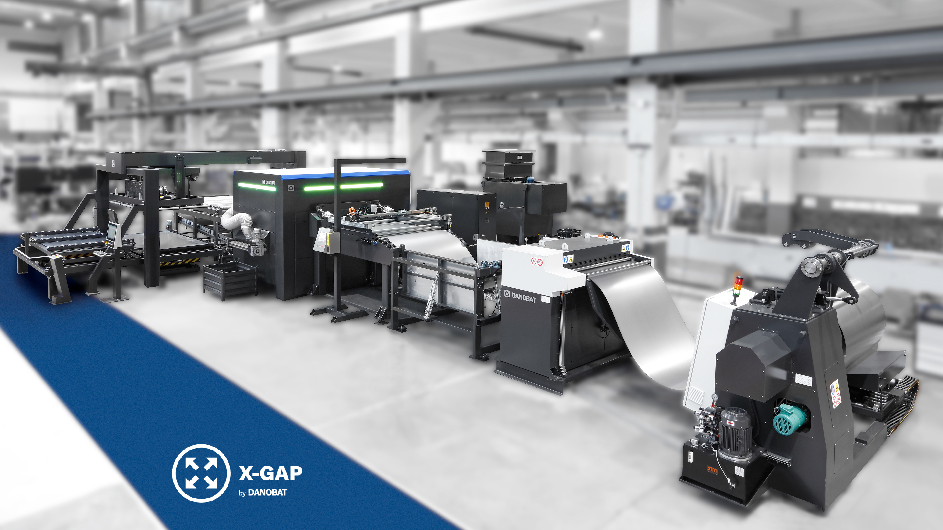 Sheet Metal Division of Danobatgroup installs in USA a unique laser blanking solution with X-GAP system