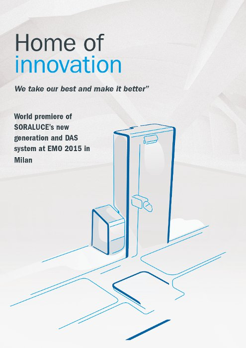 SORALUCE is consolidated as Home of Innovation with new concepts that will revolutionize the machine-tool field