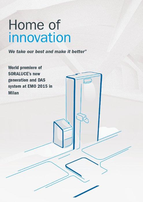 SORALUCE Home of Innovation gisa finkatu da makina-erreminta goitik behera aldatuko duten kontzeptu berriekin