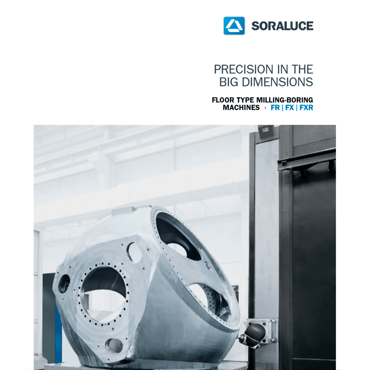 SORALUCE FR|FX|FXR Floor type milling boring machines