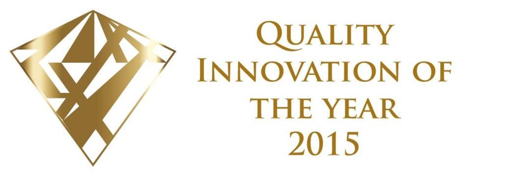 SORALUCE ha resultado ganador en el el Quality Innovation of the Year 2015