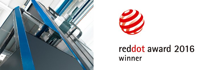 SORALUCE recibe Premio Red Dot 2016
