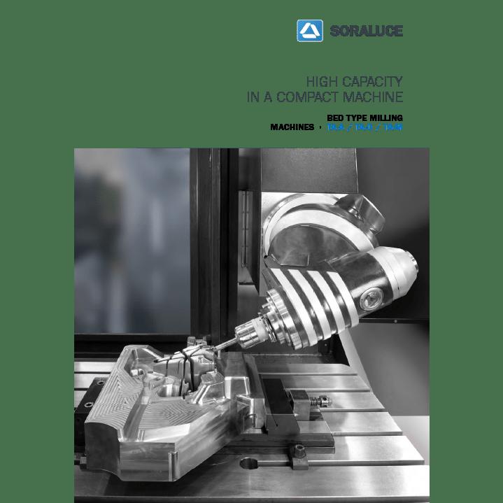 Фрезерные станки с крестовым столом серии TA-A|TA-D|TA-M от компании SORALUCE