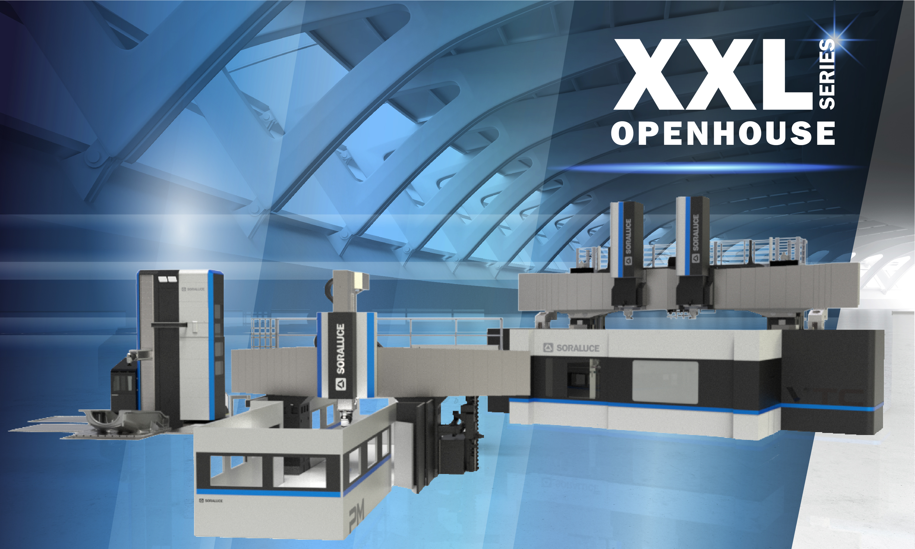 Heavy duty capacity, precision and versatility at a large scale during SORALUCE XXL Series Open House