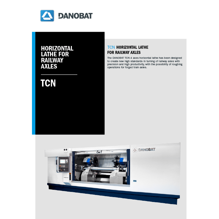 TCN axles- athe machine