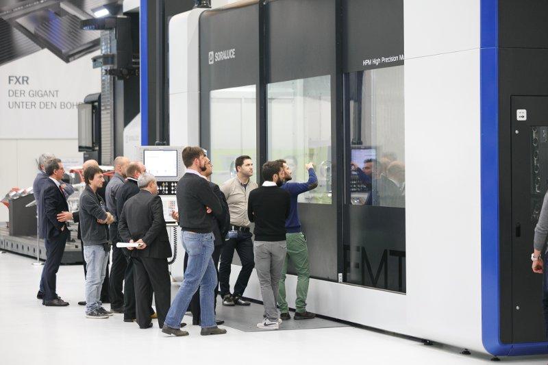 Soraluce presenta su nueva generación al completo en su centro de excelencia en Alemania