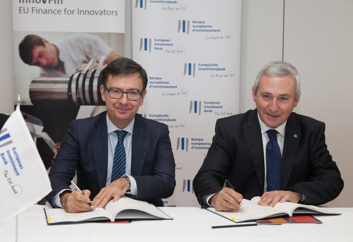 Agreement signature between the EIB and DANOBATGROUP