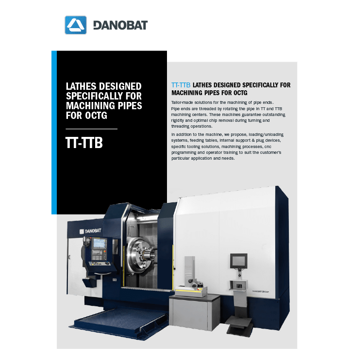 TT-TTB pipes lathe machine
