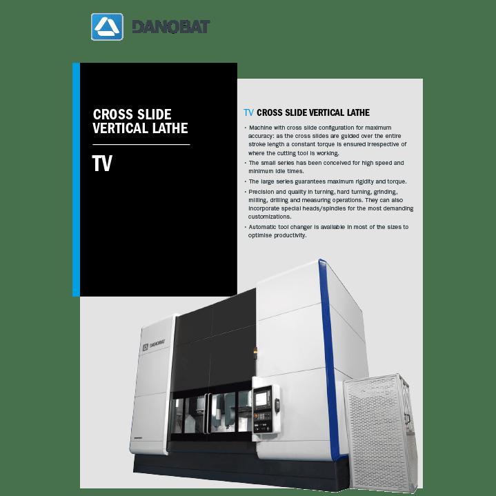 Вертикальный токарный станок серии TV