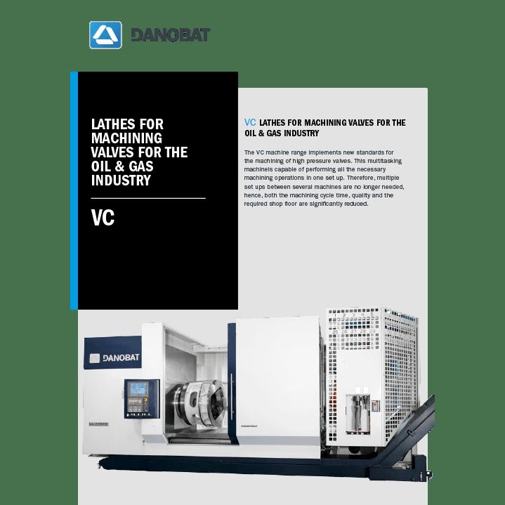 VC drehmaschine für ventile für die öl und gasindustrie