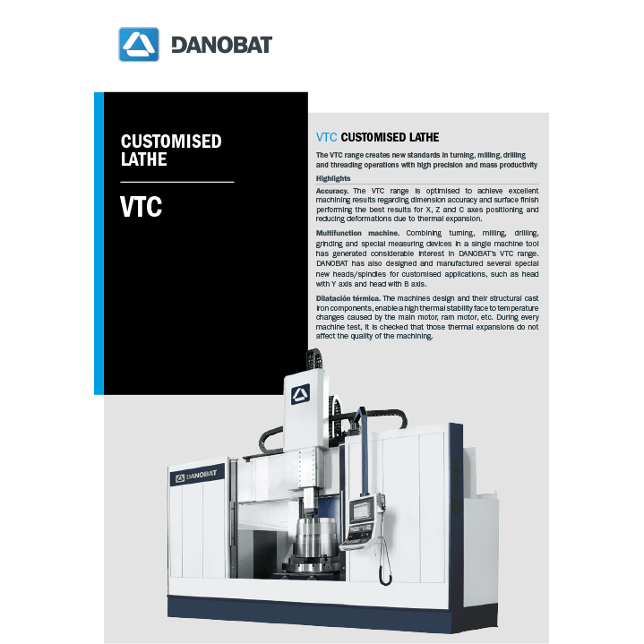 VTC customised lathe-machine