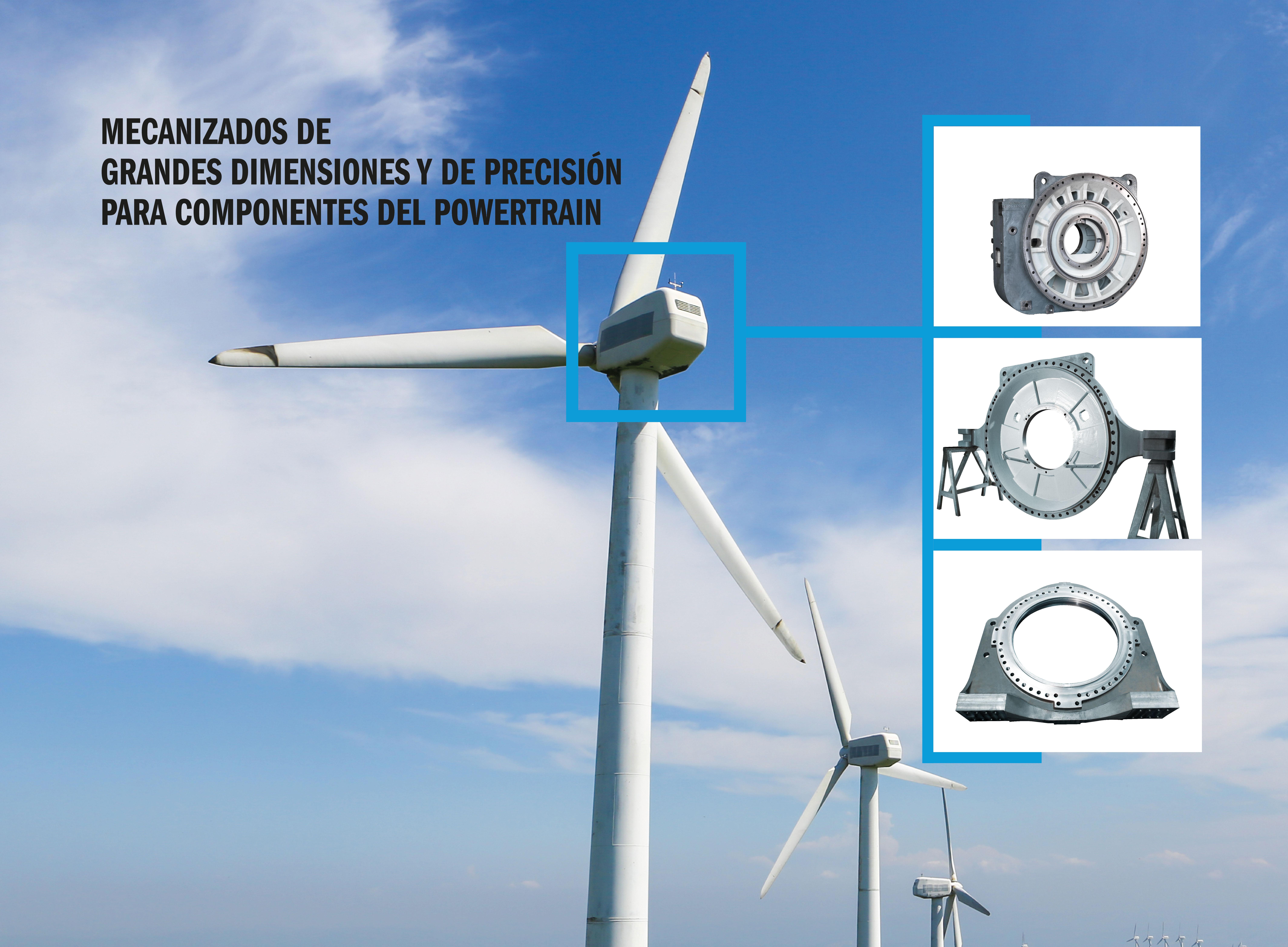 GOIMEK mostrará sus capacidades de mecanizado para el sector eólico en la feria WindEurope 2019