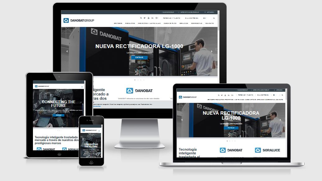 DANOBATGROUP launches a more visual and dynamic website to convey its commitment to technology