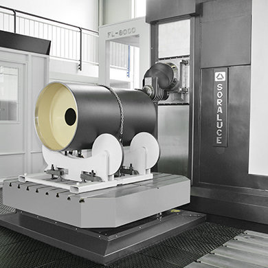 FLP Highly flexible machining centre SORALUCE