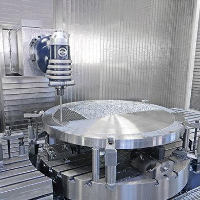 Модель FMT - Операция глубокого сверления - Компания SORALUCE