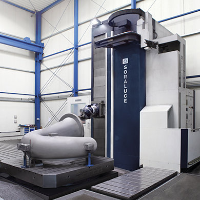 FR-FX-FXR Millesimal head for precision machining SORALUCE