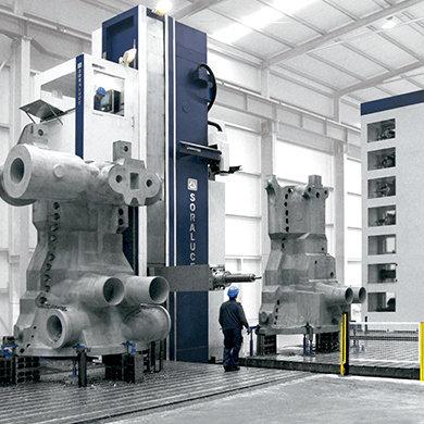 Модели FR-FX-FXR - Комплексная обработка деталей энергетического оборудования Компания SORALUCE
