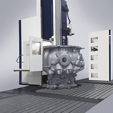 Модели FR-FX-FXR - Обработка сверхсложных деталей газовой турбины - Компания SORALUCE