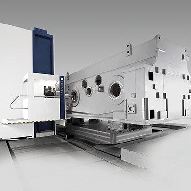 FR-FX-FXR Mecanizado de cabezales y estructuras de prensa en pendular
