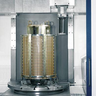 Модель VTC - Токарная обработка ротора - Компания SORALUCE