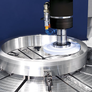 VTC Ring turning and grinding SORALUCE
