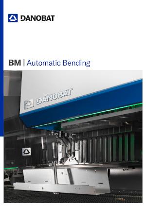 Автоматизированный панелегибочный станок серии BM от компании DANOBAT