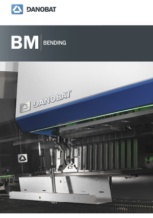 BM automatic panel bender machine DANOBAT