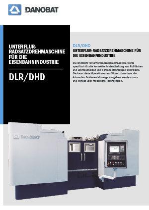 DLR / DHD Unterflurradsatzdrehmaschinen DANOBAT