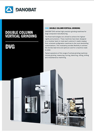 Вертикальный шлифовальный станок серии DVG от компании DANOBAT