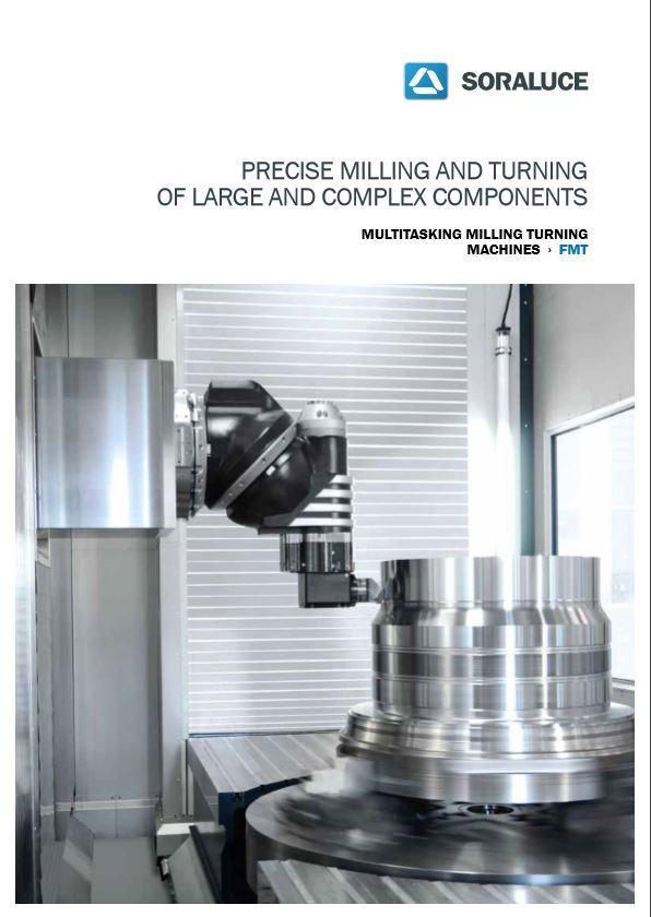 FMT Multitasking milling turning machine SORALUCE