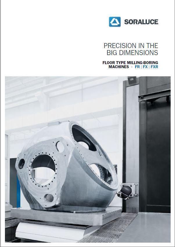 Фрезерно-расточный станок напольного типа серии FXR от компании SORALUCE