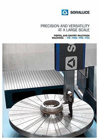 PM / PMG / PRG / PXG Fresatzeko multifuntzio gantry makina SORALUCE